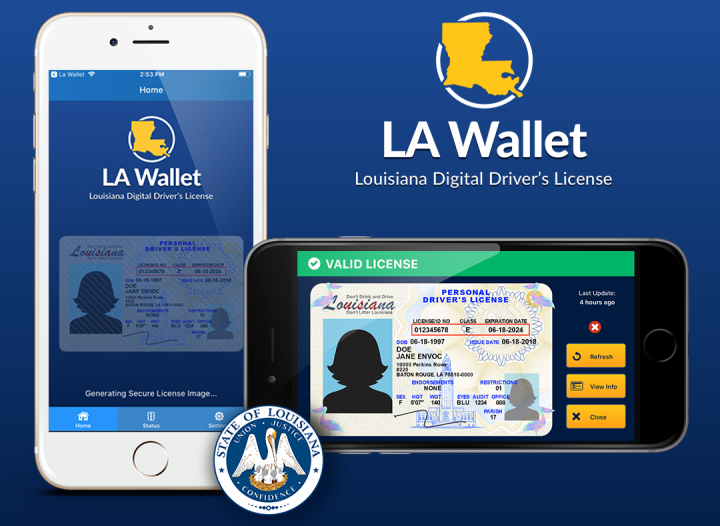 LA Wallet Previews